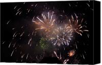 Fire Works Canvas Prints - First Love Canvas Print by Bill Kellett