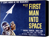1959 Movies Canvas Prints - First Man Into Space, 1959 Canvas Print by Everett