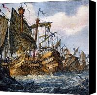 3rd Canvas Prints - First Punic War Battle Canvas Print by Granger
