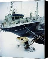 European Union Canvas Prints - Fishing Trawler, Howth Harbour, Co Canvas Print by The Irish Image Collection