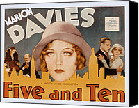 Bennett Canvas Prints - Five And Ten, Marion Davies, Richard Canvas Print by Everett