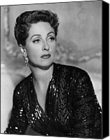 Fid Photo Canvas Prints - Five Fingers, Danielle Darrieux, 1952 Canvas Print by Everett