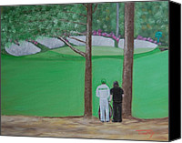 Augusta Golf Painting Canvas Prints - Five or Six Canvas Print by Timothy Johnson