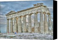 Acropolis Canvas Prints - Fixer Upper Canvas Print by David Bearden