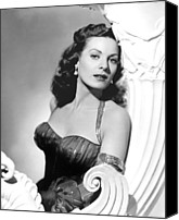 Publicity Shot Canvas Prints - Flame Of Araby, Maureen Ohara, 1951 Canvas Print by Everett