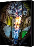 Ark Canvas Prints - Flame On Canvas Print by Bob Orsillo