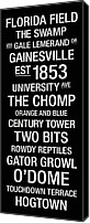 Gator Canvas Prints - Florida College Town Wall Art Canvas Print by Replay Photos