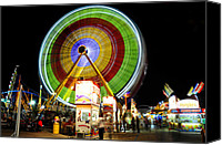 Florida State Canvas Prints - Florida State Fair 2012 Canvas Print by David Lee Thompson