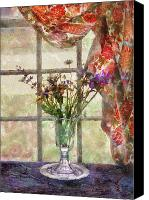 Backdrop Canvas Prints - Flower - Flower - A vase of flowers  Canvas Print by Mike Savad