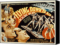 Del Rio Canvas Prints - Flying Down To Rio, Fred Astaire Canvas Print by Everett