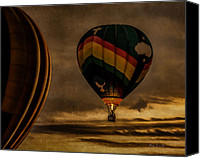Hot Air Canvas Prints - Following Amazing Grace Canvas Print by Bob Orsillo