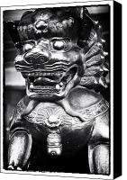 Lifestyle Prints Photo Canvas Prints - Foo Dog Canvas Print by John Rizzuto