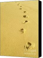 Lifestyle Prints Photo Canvas Prints - Foot Prints Canvas Print by Carlos Caetano