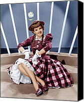 White Gloves Canvas Prints - For Me And My Gal, Judy Garland, 1942 Canvas Print by Everett