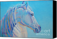 Pony Painting Canvas Prints - For Melissa Canvas Print by Kimberly Santini