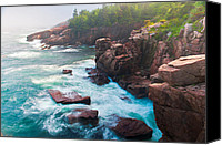 Acadia Canvas Prints - For Only A Moment Canvas Print by Bernard Chen