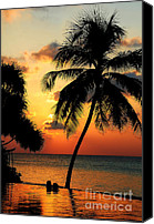Poetic Canvas Prints - For YOU. Dream Comes True. Maldives Canvas Print by Jenny Rainbow