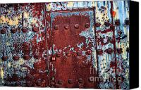 Rusty Door Canvas Prints - Forbidden Door  Canvas Print by Carol Groenen