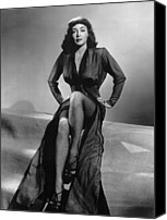 1948 Movies Canvas Prints - Force Of Evil, Marie Windsor, 1948 Canvas Print by Everett