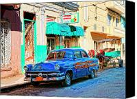 Havana Daydreams Canvas Prints - Ford Power Canvas Print by Dominic Piperata