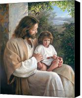 Alone Canvas Prints - Forever and Ever Canvas Print by Greg Olsen