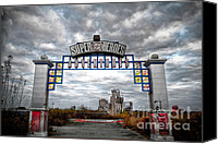 Jazzland Canvas Prints - Forgotten Heroes Canvas Print by Pixel Perfect by Michael Moore