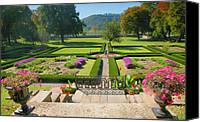 Indiana Autumn Canvas Prints - Formal Garden I Canvas Print by Steven Ainsworth