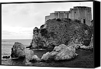 Dubrovnik Canvas Prints - Fort Bokar. Canvas Print by Terence Davis