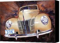 Deluxe Canvas Prints - Forty Ford Canvas Print by Mike Hill