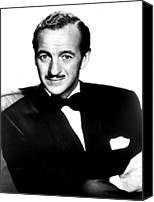 Publicity Shot Canvas Prints - Four Star Playhouse, David Niven Canvas Print by Everett