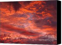 On Fire Canvas Prints - Fourth of July Canvas Print by Juergen Roth