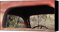 Old Trucks Photo Canvas Prints - Frames Canvas Print by Steven Milner