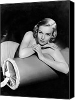 1930s Hairstyles Canvas Prints - Frances Farmer, Paramount Pictures Canvas Print by Everett