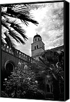 Dubrovnik Canvas Prints - Franciscan Monastery Canvas Print by Terence Davis