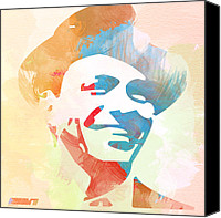 Frank Sinatra Canvas Prints - Frank Sinatra Canvas Print by Irina  March