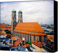 Frauenkirche Canvas Prints - Frauenkirche Munich  Canvas Print by Kevin Smith