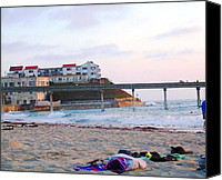 Beach Special Promotions - Free And Easy Canvas Print by Corey Maki