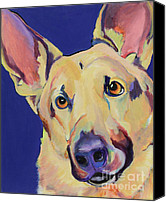 Working Dogs Canvas Prints - Freida Canvas Print by Pat Saunders-White