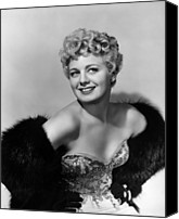 1950 Movies Photo Canvas Prints - Frenchie, Shelley Winters, 1950 Canvas Print by Everett