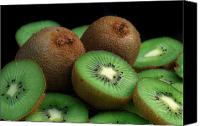 Still Special Promotions - Fresh Kiwi Canvas Print by Terence Davis