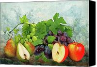 Fruits Canvas Prints - Fruit Garden Canvas Print by Manfred Lutzius