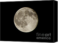 Heavens Canvas Prints - Full Moon  Canvas Print by Pixel  Chimp