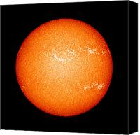 Chromosphere Canvas Prints - Full Sun Showing Coronal Mass Ejection Canvas Print by Stocktrek Images