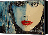 Icon Painting Canvas Prints - Gaga Canvas Print by Paul Lovering