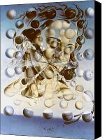 Dali Canvas Prints - Galatea of the Spheres Canvas Print by Granger