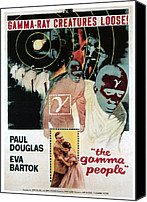 1956 Movies Canvas Prints - Gamma People, Bottom From Left Paul Canvas Print by Everett