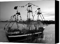 Tampa Bay Florida Canvas Prints - Gang of Pirates Canvas Print by David Lee Thompson
