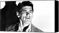 Publicity Shot Canvas Prints - Gang War, Charles Bronson, 1958 Canvas Print by Everett