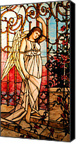 Toga Canvas Prints - Garden Angel Canvas Print by Kristin Elmquist