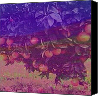 Teg Canvas Prints - Garden Of Eden Canvas Print by Casi Wonderland
